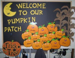 autumn bulletin board idea (6)