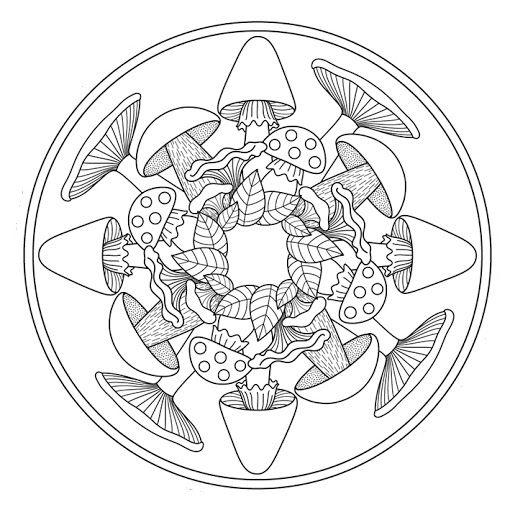 autumn mandala coloring page (5)