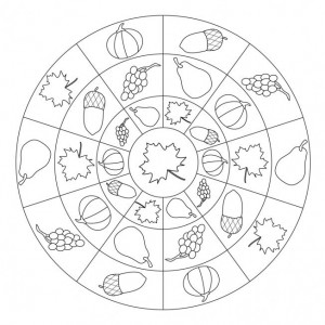 autumn mandala coloring page (7)