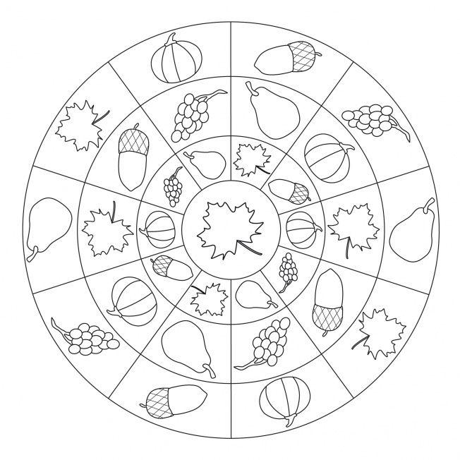 autumn mandala coloring page (7)