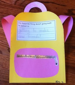 back to school crafts for preschooler