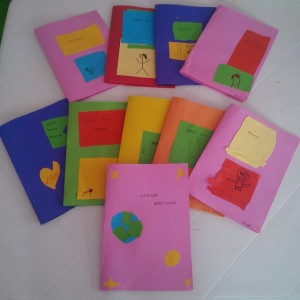 First day of school preschool ideas first day of school for Book craft ideas