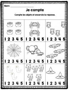 count worksheet