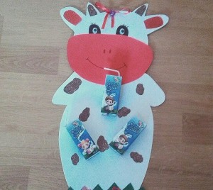 cow craft idea for kids (1)
