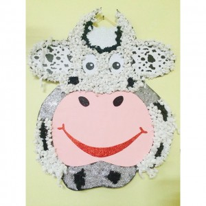 cow craft idea for kids (3)