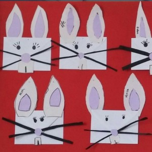 envelope bunny craft