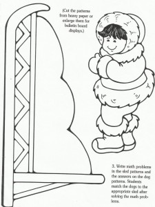 eskimo craft pattern