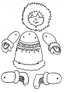 eskimo puppet craft