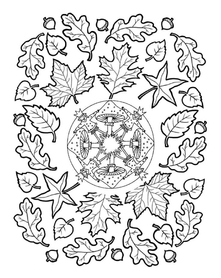 fall mandala colorin page (4)