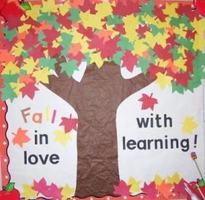fall tree bulletin board (3)