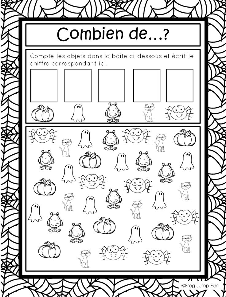 halloween worksheet for kids (1) | Crafts and Worksheets for ...