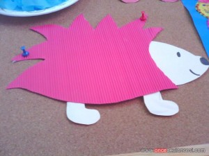 hedgehog craft (2)