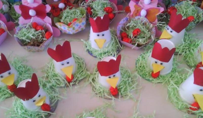 paper-cup-hen-craft Worksheet Vegetables Kindergarten on color shapes, beginning sounds, free alphabet, reading sight words, ordinal numbers,