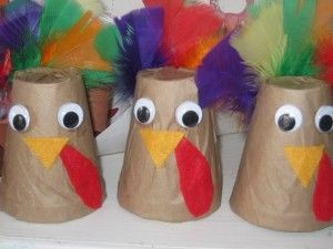 Turkey craft idea for kids Crafts