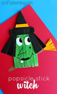 popsicle witch craft