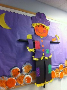 pumpkin bulletin board idea (1)
