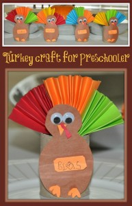 thanksgiving crafts idea for kids