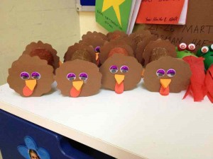 toilet roll turkey craft
