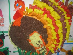turkey bulletin board