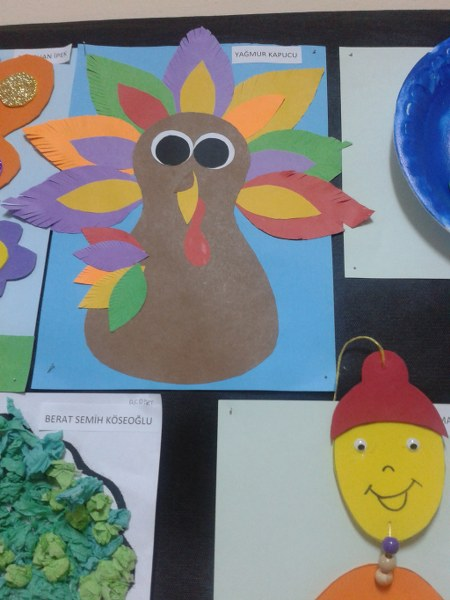 Crafts actvities and worksheets for preschool toddler and for Turkey country arts and crafts