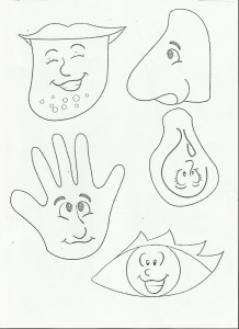 5 senses worksheet for kids (1)