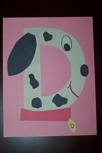 Dalmatian dog craft (3)