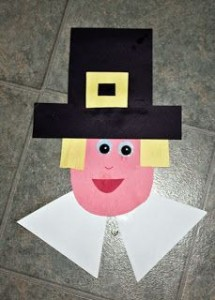Thanksgiving Pilgrim Craft for Kids