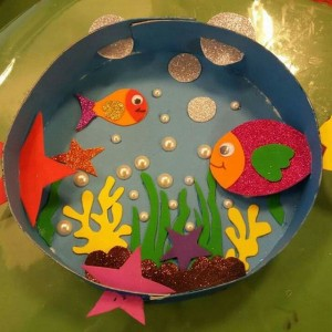 Sea animal craft idea for kids Crafts and Worksheets for