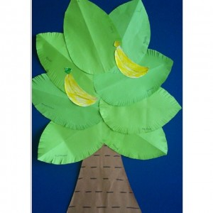banana tree craft