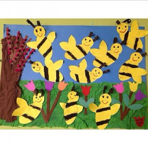 bee bulletin board idea (1)