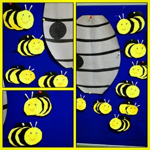 bee bulletin board idea (3)