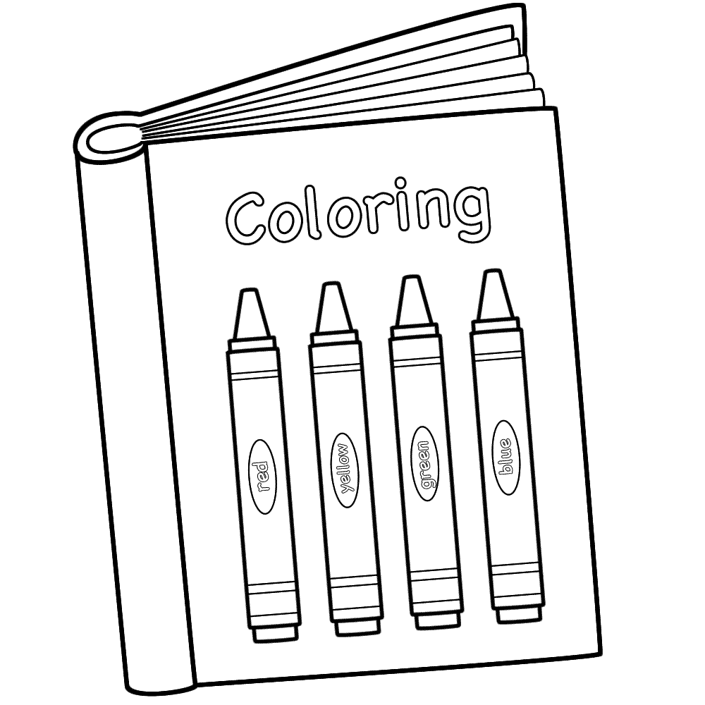 back to school coloring pages - Book Pictures To Color