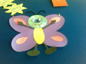 cd butterfly craft