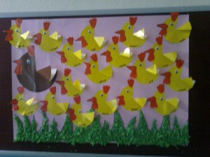 chick bulletin board