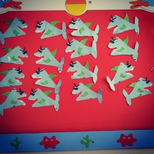 easy origami jaws craft (1)