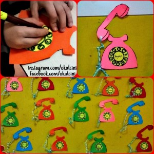 free telephone craft (3)