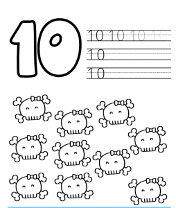 halloween number worksheets (1)