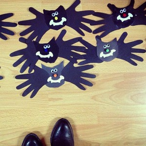 handprint bat craft (1)