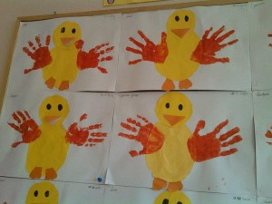 handprint chick craft (2)