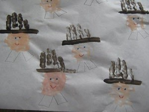 handprint pilgrims craft