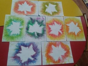 leaf craft idea for kids (2)