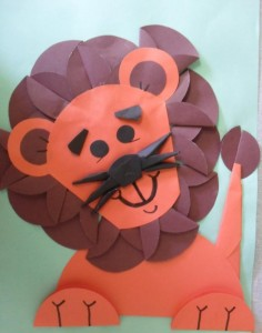 lion craft idea for kids (1)