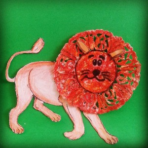 lion craft idea for kids (2)
