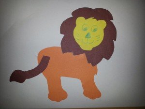 lion craft idea for kids (4)