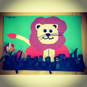 lion craft idea for kids (5)