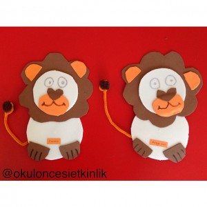 lion craft idea for kids (8)