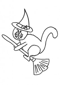 printable witch coloring page (4)