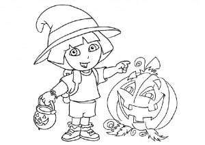 printable witch coloring page (5)
