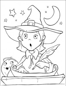 witch coloring page for kids (2)