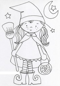 witch coloring page for kids (3)